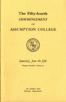 1971 commencement program thumbnail