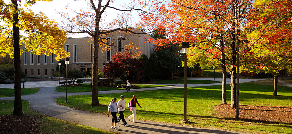 Assumption's Campus in the Fall