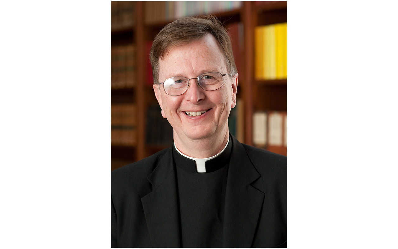 Headshot of Fr. Myles Sheehan who will lecture at Assumption College in Worcester on Facing the End of Life