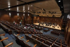 The 400-seat Jeanne Y. Curtis Performance Hall at Assumption College