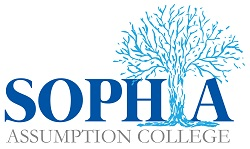 Assumption College SOPHIA logo